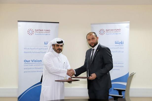 قطر تدعم الخوذ البيضاء بمليوني دولار لإقامة مشاريع تنموية في